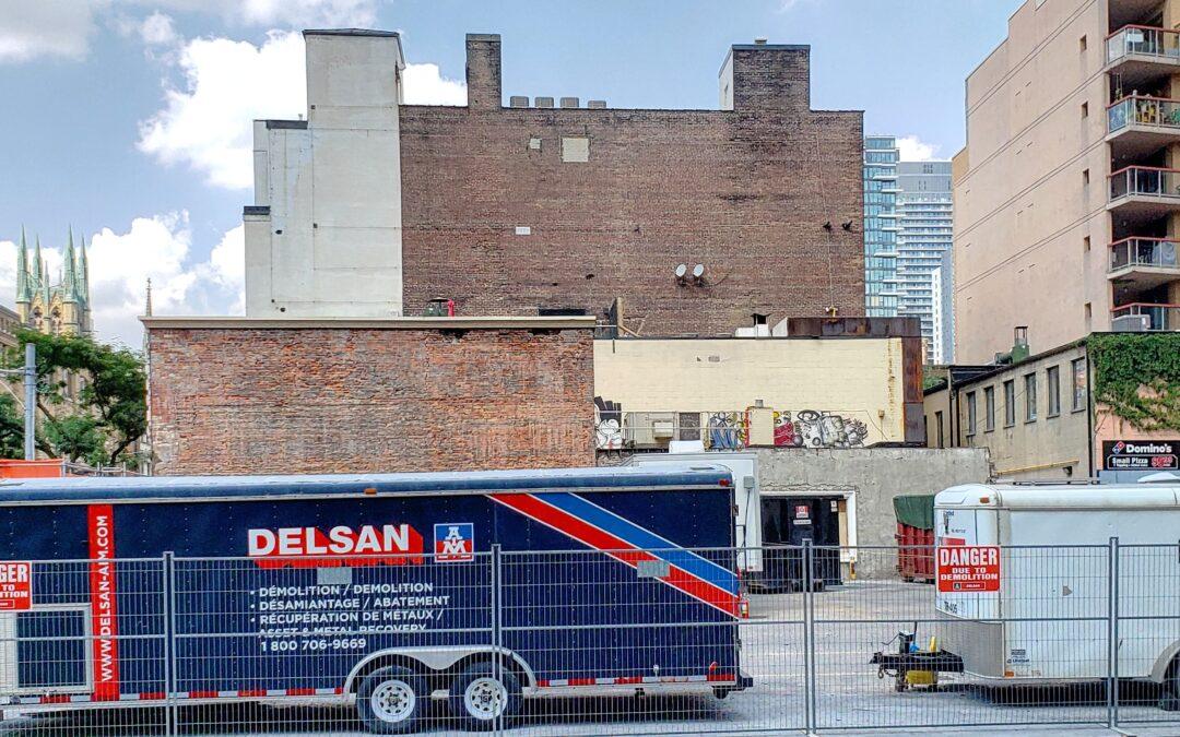 Interior Demolition Work Continues 99-97 Church Street