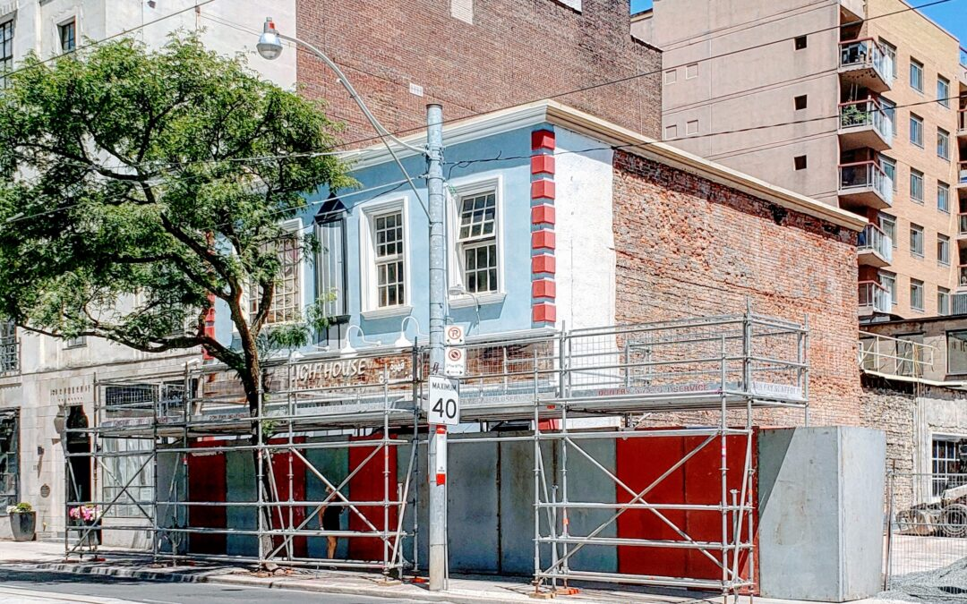 Demolition of 97 & 99 Church begins Monday, August 10