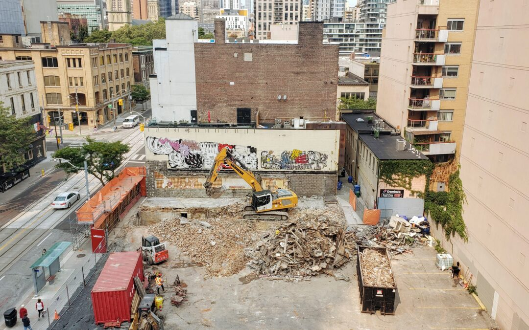 97-99 Church Structure Demolished Above Grade
