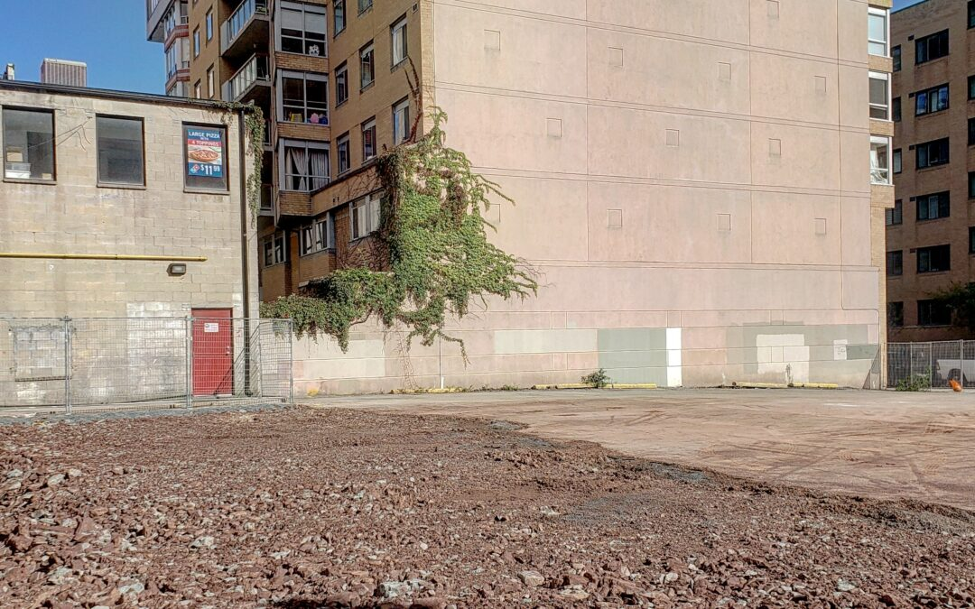 Demolition Complete at the Saint Construction Site