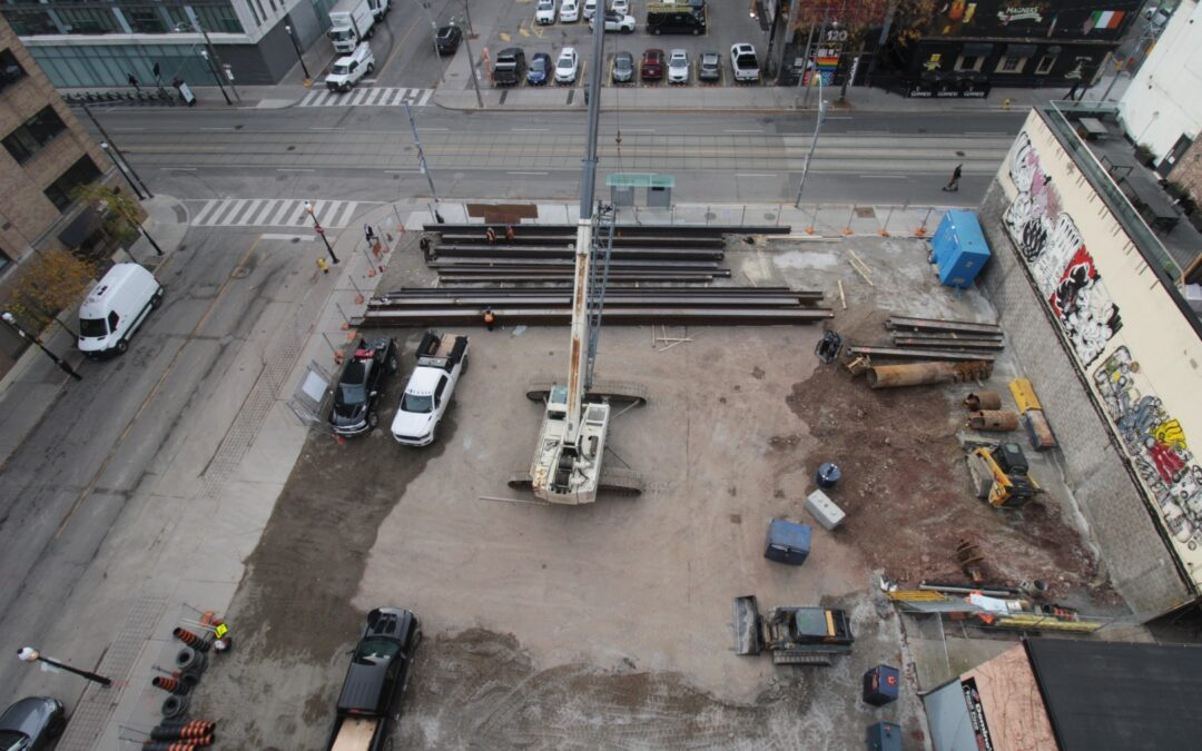 Drill Rig to arrive on-site Friday, November 6