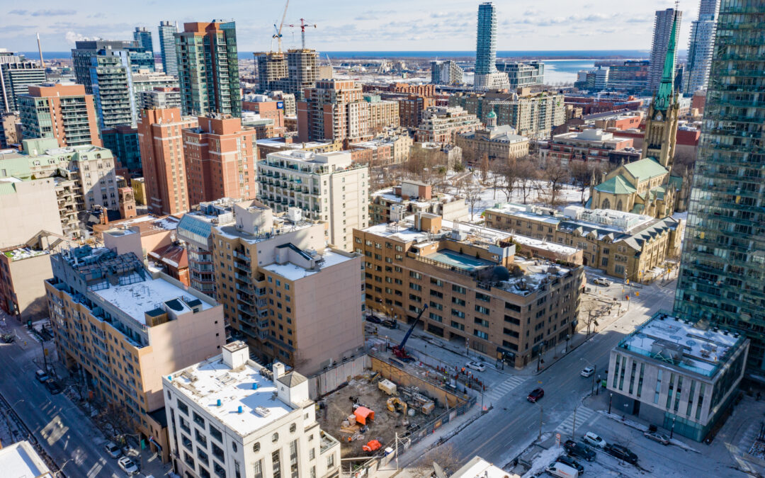 Construction Update for The Saint, March 5, 2021