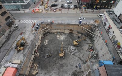 Construction Update for the Saint, March 12, 2021