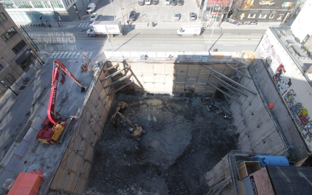 Construction Update for the Saint, April 23, 2021