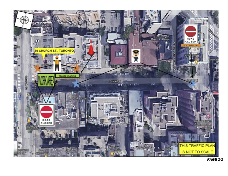 Holiday & Weekend Work at the Saint: Road Closure on July 3.