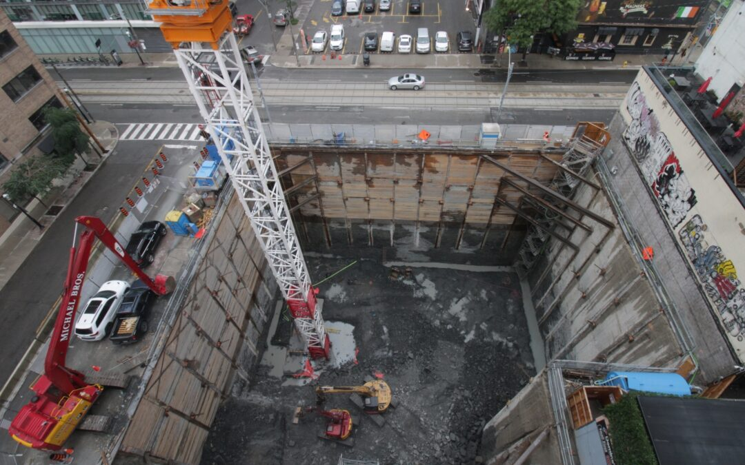 Construction Update for The Saint, July 8, 2021