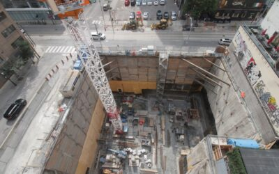 Construction Update for The Saint, August 13, 2021