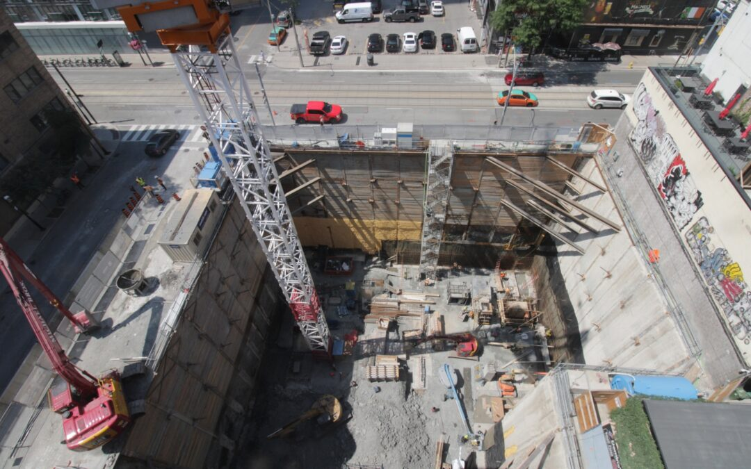 Construction Update for the Saint, August 6, 2021