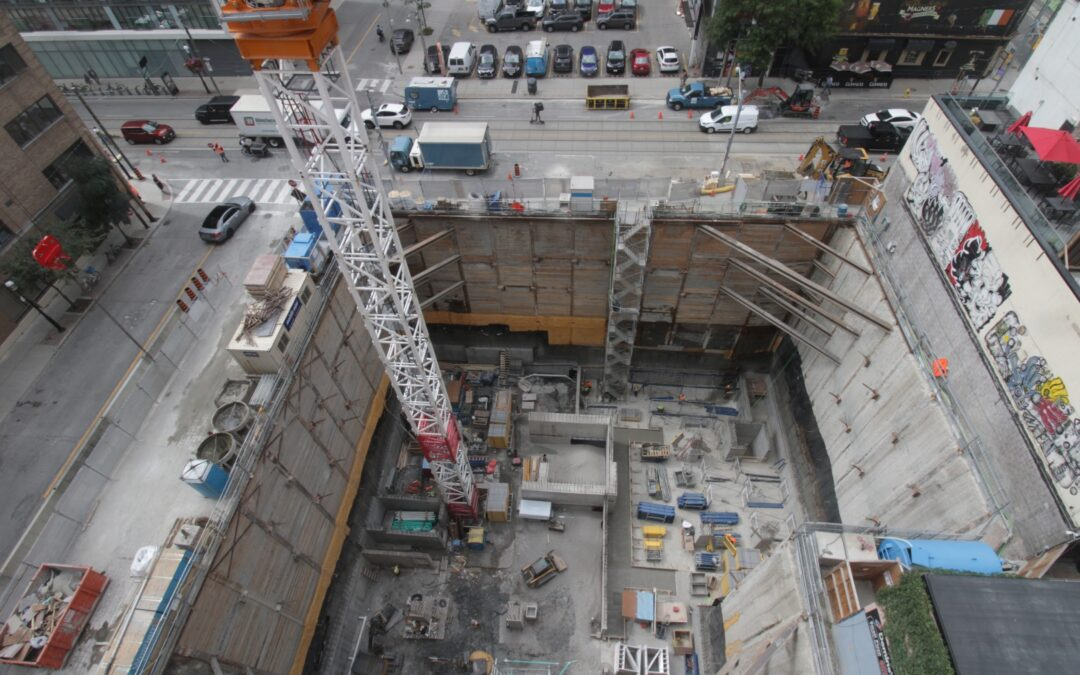 Construction Update for the Saint, September 10, 2021