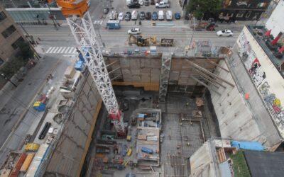 Construction Update for The Saint, September 17, 2021