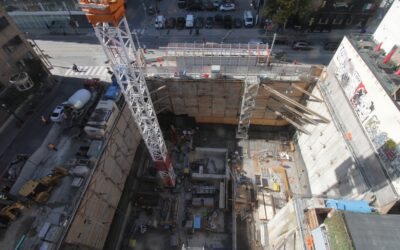 September Construction Report for The Saint.