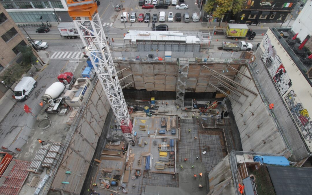 Construction Update for The Saint, October 15, 2021