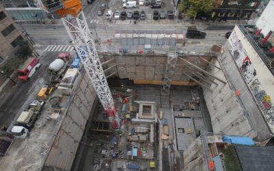 Construction Update for the Saint, October 8, 2021